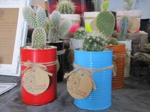 Quirky cacti by Tutus and Tattoos
