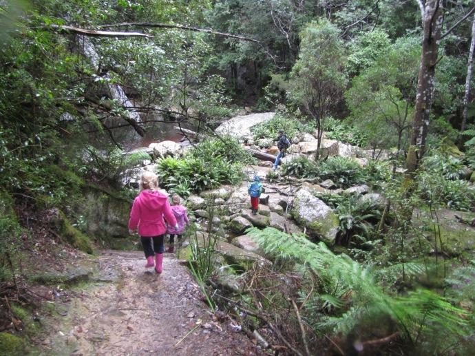 The path to Snug Falls