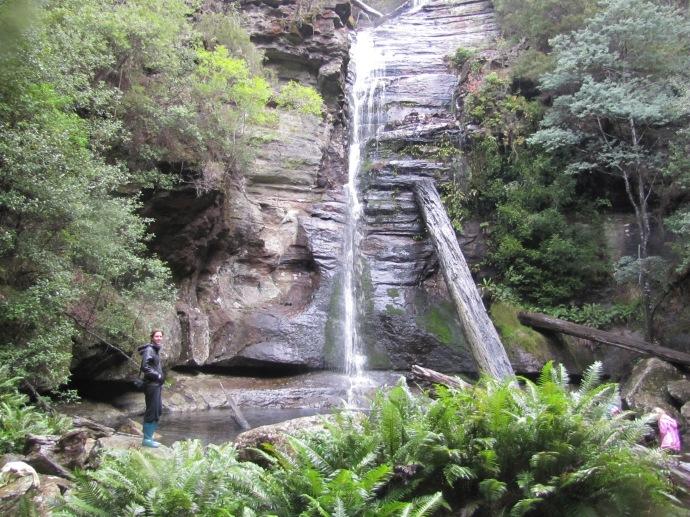 Kate at Snug Falls